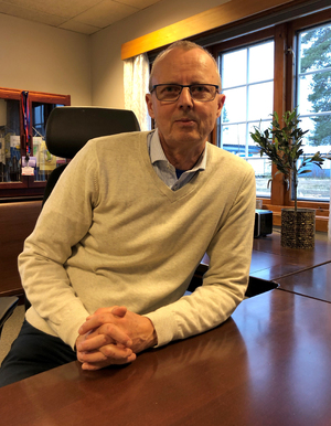 Ordfører i Evje og Hornnes kommune, Svein Arne Haugen.