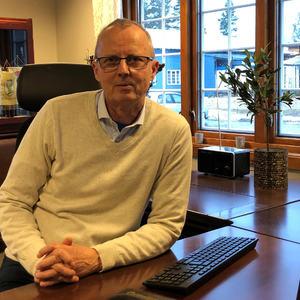 Liggende bilde av ordfører i EH kommune
