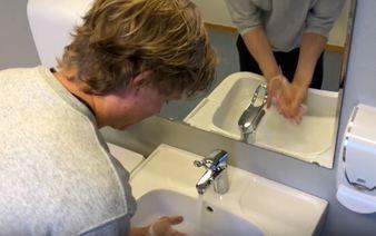 Korona handvask