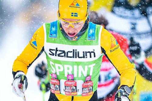 Lina Korsgren underveis i Visma Ski Classics-rennet Vasaloppet. Foto: Visma Ski Classics / Magnus Östh.