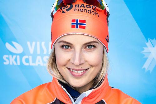 Thea Krokan Murud. Foto: Visma Ski Classics / Magnus Östh.