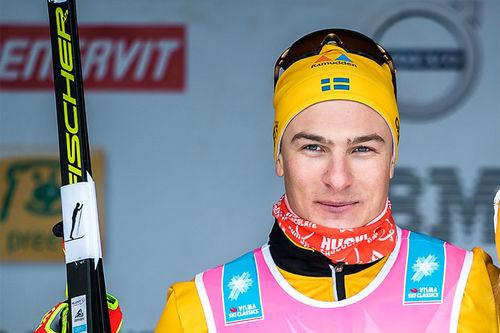 Max Novak. Foto: Visma Ski Classics / Magnus Östh.