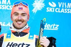 Andreas Nygaard. Foto: Visma Ski Classics / Magnus Östh.