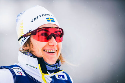 Ebba Andersson. Foto: Modica/NordicFocus.