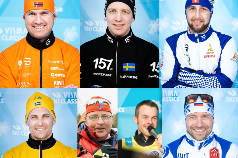 Buketten som er nominert til Team Director of the Year i Visma Ski Classics 2019-2020. Foto: Visma Ski Classics.