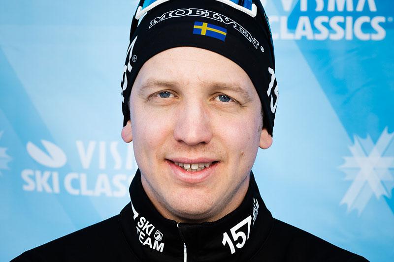 Anton Järnberg, team director for Lager 157 Ski Team. Foto: Visma Ski Classics / Magnus Östh.