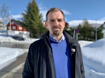 FUG-leder Marius Chramer (Foto: NRK)