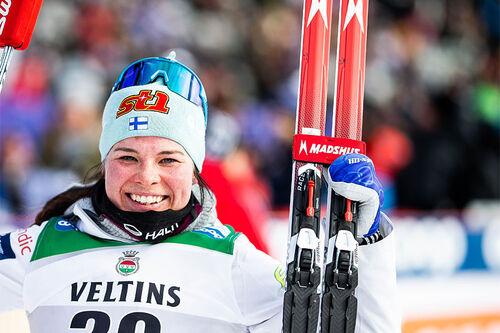 Krista Pärmäkoski. Foto: Modica/NordicFocus.