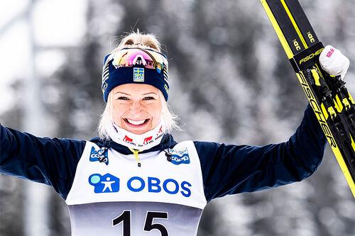 Frida Karlsson. Foto: Modica/NordicFocus.