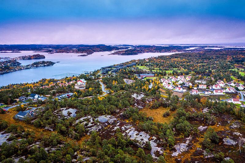 Stabbestad ved Kragerø: På denne tomten skal det bygges 36 sommerhytter i regi av Fredensborg Fritid og Leve Hytter.
