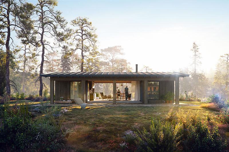 Annerkjennelse: Med særegen og solid arkitektur, gjennom hyttemodellen Vy, har Leve Hytter tatt en ledende posisjon i markedet som den moderne hytteleverandøren. Den nye hyttemodellen, Sommer-Vy tar de arkitektoniske linjene inn i sommermarkedet.