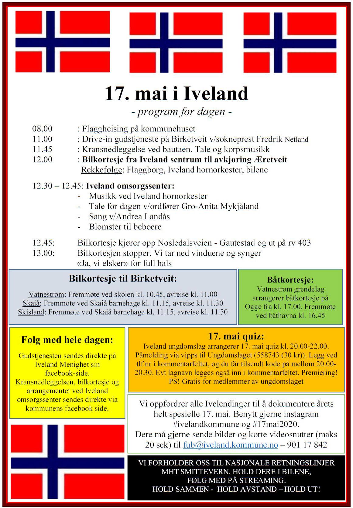 17 Mai Program Åsane