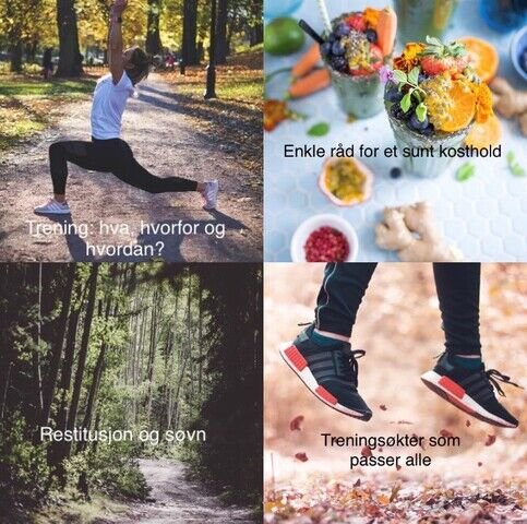trening kosthold og søvn