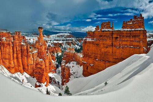 Bryce Canyon i Utah, delstatsnabo til Nevada hvor Las Vegas ligger. Foto: Creative Commons/Pixabay.com.