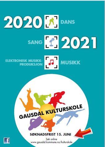 Bilde av plakat for kulturskolen