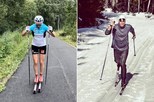 Klare for å sette sin nyvinning ut i livet til nytte for utøvere som vil gå enda raskere på ski.