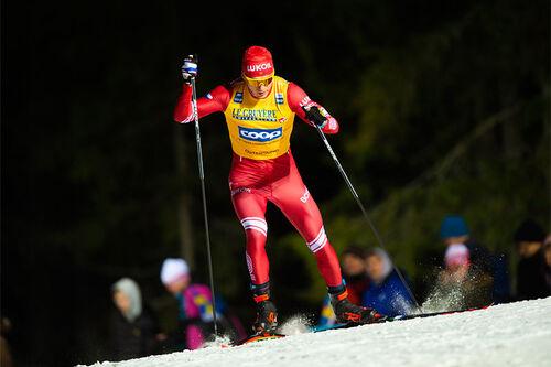 Alexander Bolshunov. Foto: Thibaut/NordicFocus.