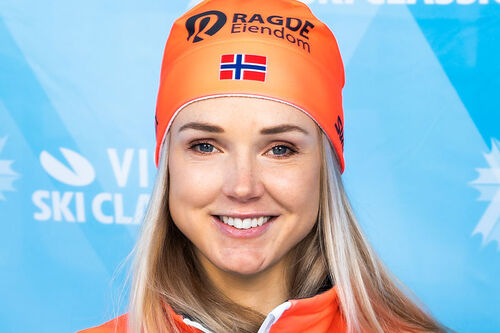 Emilie Fleten. Foto: Visma Ski Classics / Magnus Östh.