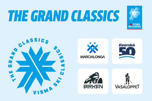 Marcialonga – Jizerska – Vasaloppet – Birken utgjør The Grand Classics i Visma Ski Classics.