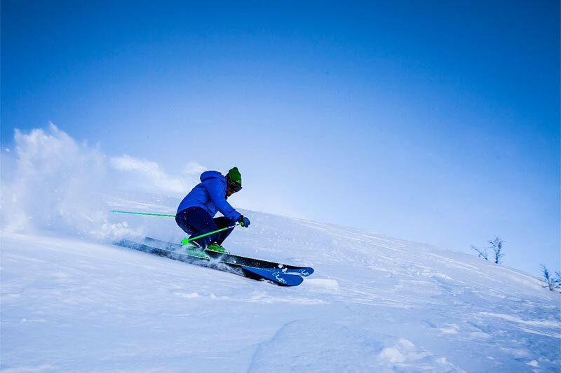 Off piste skikjører. Foto: Creative Commons/Pxfuel.com.