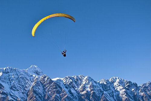 Paraglider. Foto: Creative Commons/Pxfuel.com.