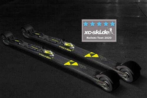 Fischer sin Speedmax Classic rulleski. Foto:  Fischer.