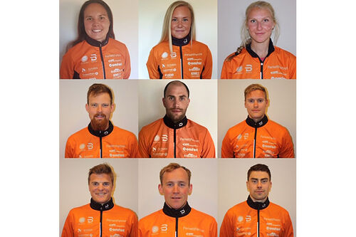 Løpere som inngår i Team ParkettPartner Sjusjøen for sesongen 2020/2021.