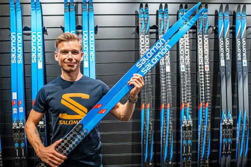 Martin Galleberg er sommeren 2020 ansatt i Salomon som XC Racing Specialist. Foto: Salomon / Amer Sports.