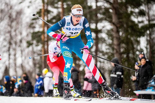 Hailey Swirbul. Foto: Modica/NordicFocus.