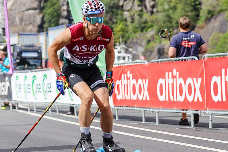 Simen Hegstad Krüger inn til seier i Lysebotn Opp under BLINK 2020. Foto: Axelar / Kjetil Dalseth.
