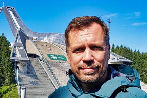 Stefan Marx i Holmenkollen Skifestival. Foto: Holmenkollen Skifestival.