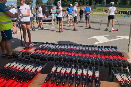 FF Rollerskis er foretrukket av FIS, det internasjonale skiforbundet, som leverandør til verdenscupen på rulleski. Foto: FF Rollerskis.