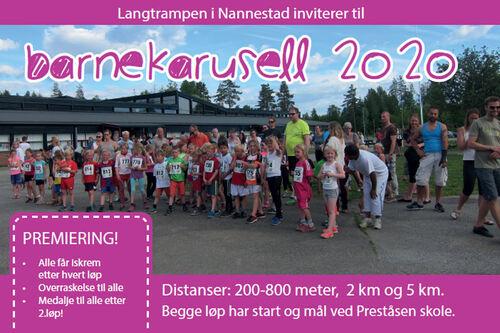 Langtrampen i Nannestad.