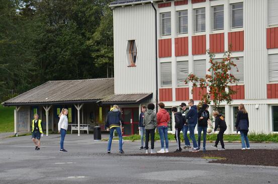 Bildet viser Jevnaker ungdomsskole