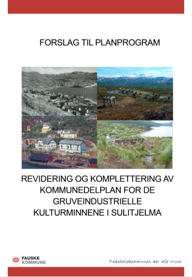 Forslag til planprogram