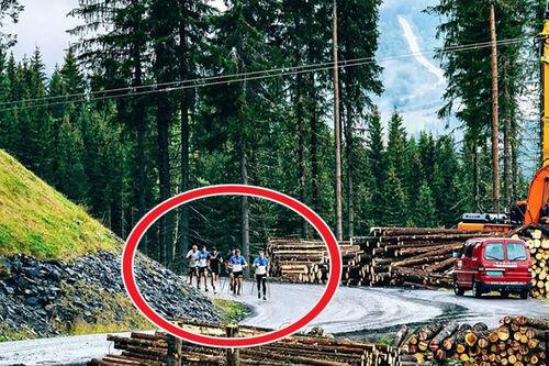 – Hufs i Hafjell, skriver Didrik Tønseth til dette bildet som han har lagt ut på sin Instagram-side, www.instagram.com/toenseth