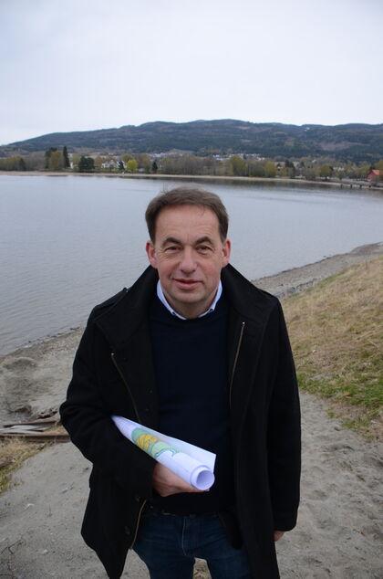 Bildet viser næringsrådgiver i Jevnaker, Hans Tollef Solberg