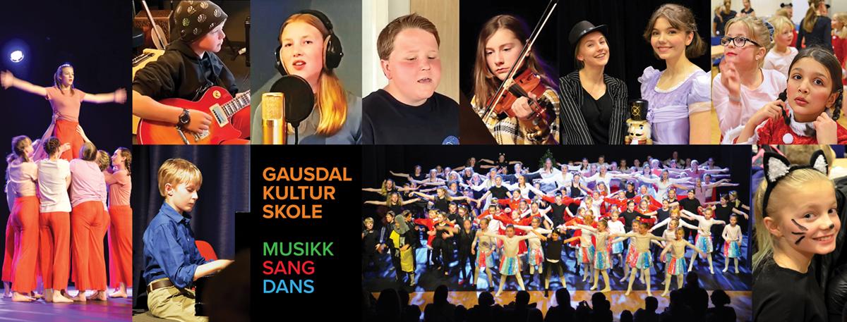 Kulturskolen - musikk, sang, dans