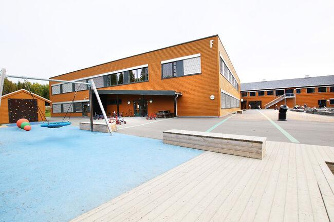Bildet viser Bergerbakken skole