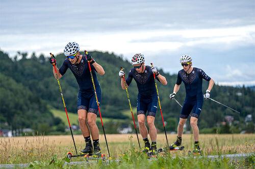 Klesmerket Bioracer og Team Telemark i langrenn har inngått avtale om samarbeid. Foto: Team Telemark.