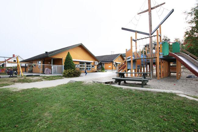 Bildet viser Hovsenga barnehage