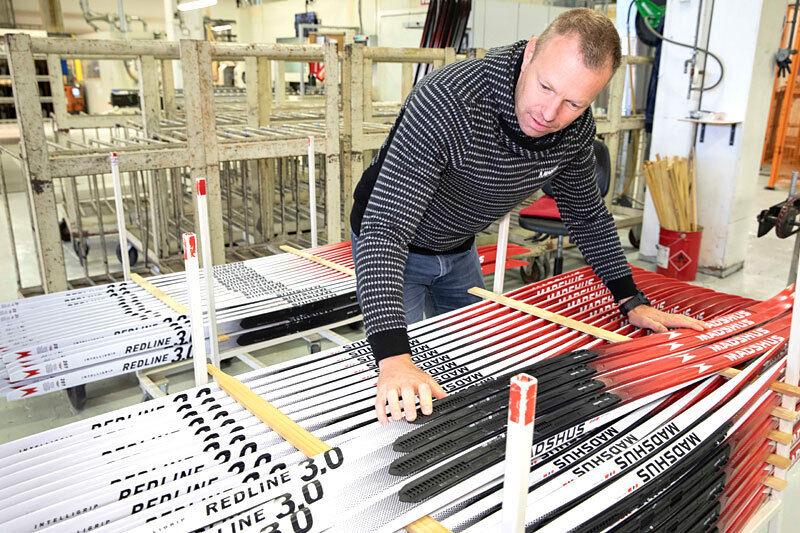 Redline 3.0 fra Madshus. Her med den norske skifabrikkens Bjørn Ivar Austrem. Foto: Stefano Zatta / Madshus.