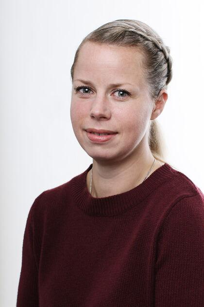 Bildet viser varaordfører Kristine Belsby