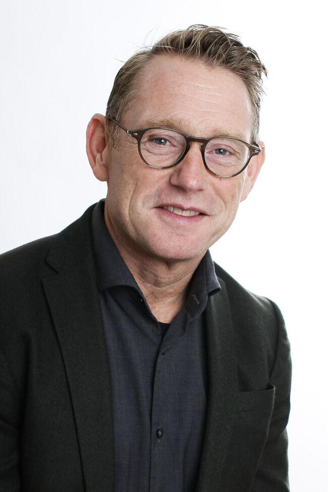 Bildet viser rådmann Erling Kristiansen