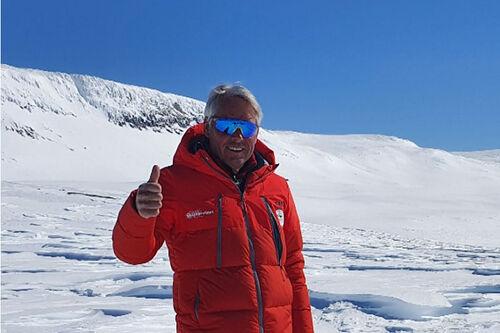 Jarle Uthus fra Skarverennet. Arrangørfoto.