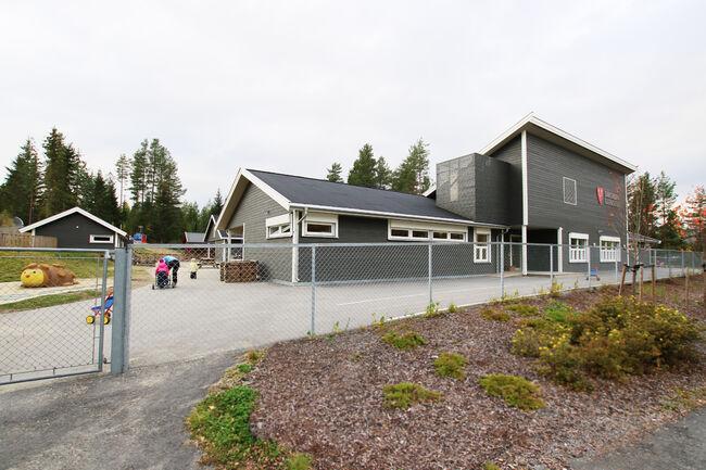 Bildet viser Samsmoen barnehage