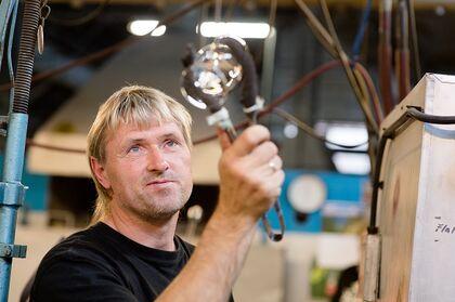 Levende tradisjonshåndtverk på Hadeland Glassverk