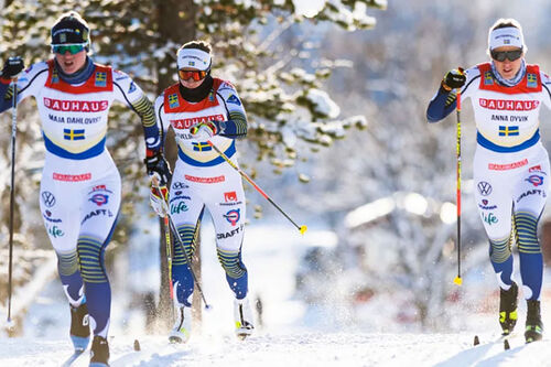 Bauhaus Cup er svenskenes juniorcup i langrenn. Foto: Svenska Skidförbundet.