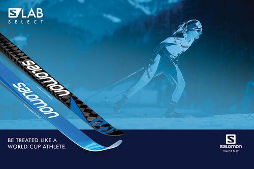 Salomon S/LAB Select gjør at du kan få håndplukket ski fra deres fabrikk. Foto/grafikk: Salomon og Langrenn.com.