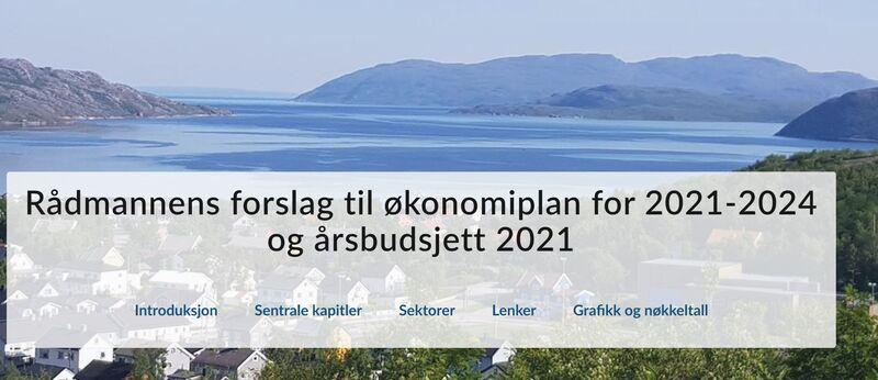 økonomiplan 2021-2024 med årsbudsjett 2021